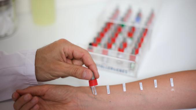 tests d'allergie